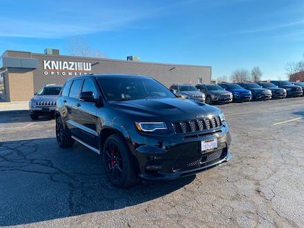 2019 Jeep Grand Cherokee SRT|TRADE IN|PANORAMIC SUNROOF|6.4L HEMI|19 SPEAKE SUV for sale in Leamington, ON Black