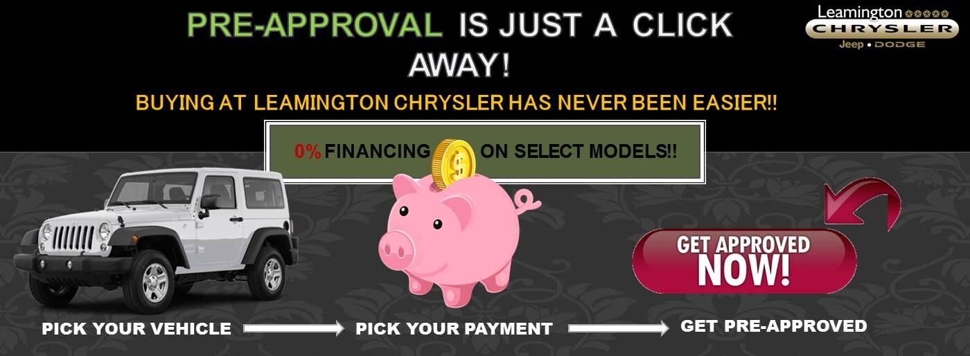 Your New & Used Car Dealership in Leamington | Leamington Chrysler