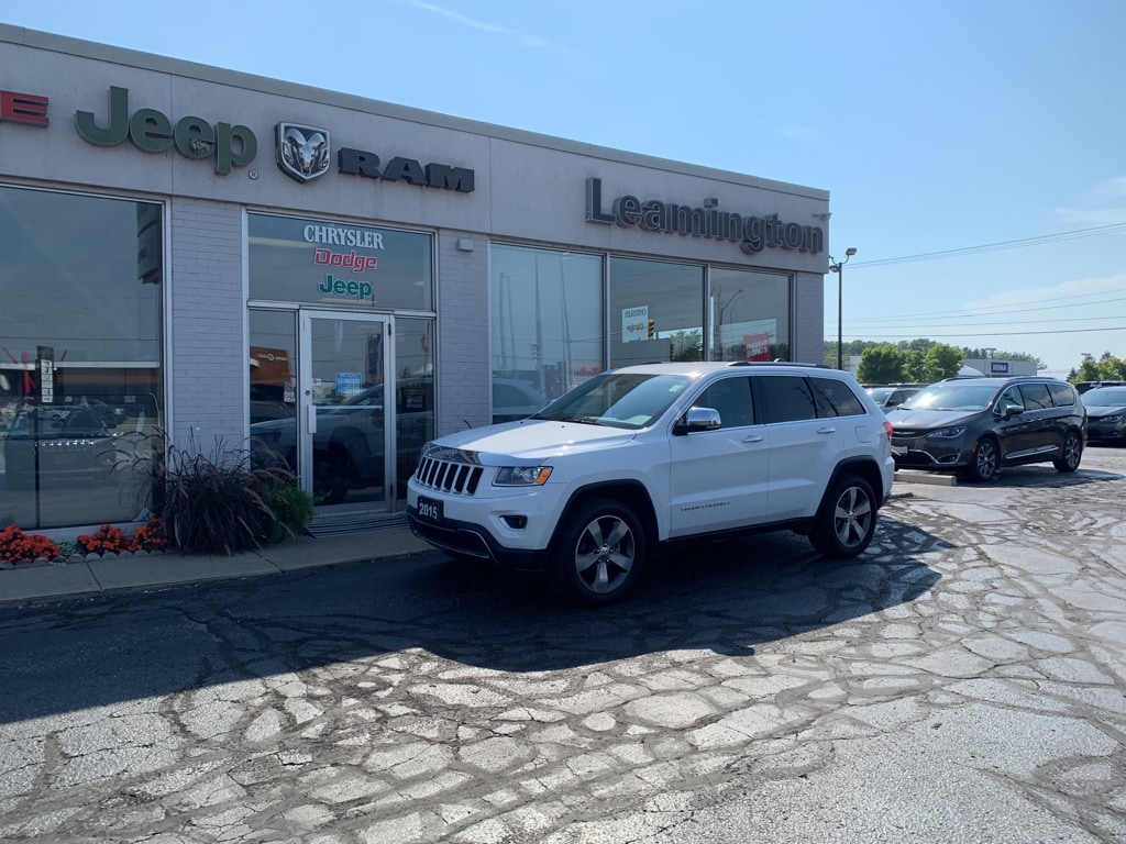 2015 Jeep Grand Cherokee LIMITED LOCAL TRADE BACK UP CAMERA ACCIDENT FREE BLUETOOTH NAVIGATION  SUV