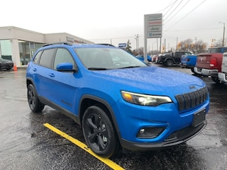 2021 Jeep Cherokee Altitude 4x4 Sport Utility for sale in Leamington, ON Hydro Blue Pearl