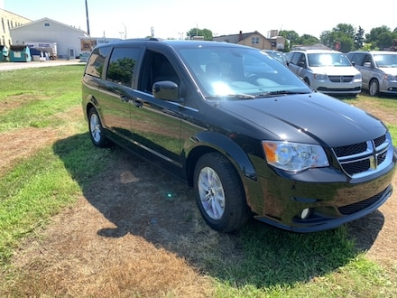 2020 Dodge Grand Caravan Premium Plus Van for sale in Leamington, ON Brilliant Black Crystal