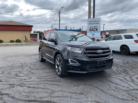 2017 Ford Edge SPORT|LOCAL TRADE|ECO BOOST|AWD|BACK UP CAMERA|REM SUV