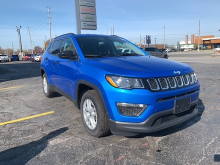 2021 Jeep Compass Sport SUV for sale in Leamington, ON Laser Blue Pearl