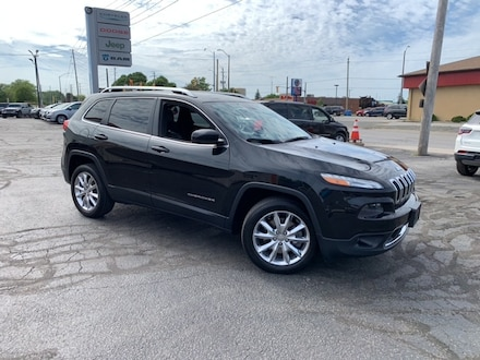 2014 Jeep Cherokee LIMITED|ONE OWNER|LOCAL TRADE|LEATHER|V6|GPS| SUV