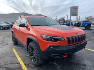 2021 Jeep Cherokee Trailhawk Elite SUV for sale in Leamington, ON Spitfire Orange