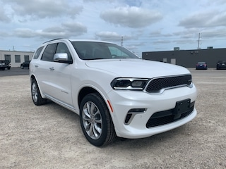 2021 Dodge Durango Citadel Anodized Platinum All-Wheel Drive for sale in Leamington, ON Ivory Tri-Coat Pearl