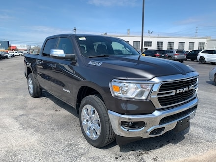 2021 Ram 1500 Big Horn 4x4 Crew Cab 144.5 in. WB for sale in Leamington, ON Granite Crystal Metallic