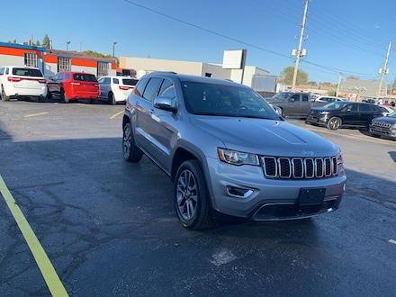 2018 Jeep Grand Cherokee LIMITED|4X4|V6|HEATED SEATS AND WHEEL|REMOTE START SUV for sale in Leamington, ON Silver