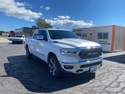 2019 Ram 1500 LIMITED|CREW CAB|LOCAL TRADE|ONE OWNER|12