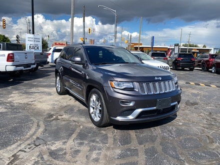 2016 Jeep Grand Cherokee SUMMIT|4X4|LOCAL TRADE|HEATED/COOLED SEATS|TRAILER SUV