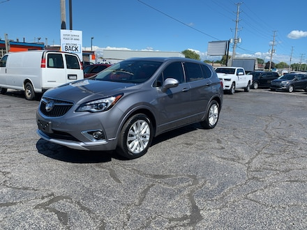 2019 Buick Envision PREMIUM I ONE OWNER LOCAL TRADE HEATED SEATS AND W SUV
