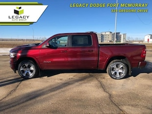 2019 Ram 1500 Laramie - Leather Seats - Sunroof Crew Cab