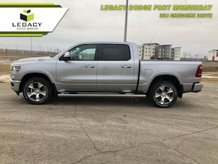 2019 Ram 1500 Laramie - Leather Seats - Navigation Crew Cab