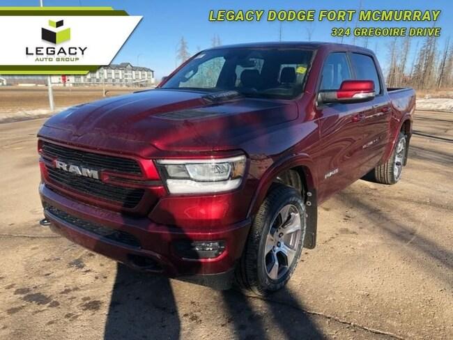2019 Ram 1500 Laramie - Leather Seats - Sunroof Crew Cab
