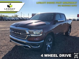 2019 Ram 1500 Laramie - Hemi V8 - Leather Seats Crew Cab