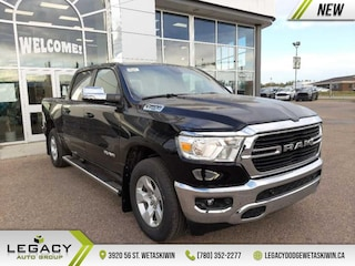 2021 Ram 1500 Big Horn -  Remote Start -  Fog Lamps Crew Cab