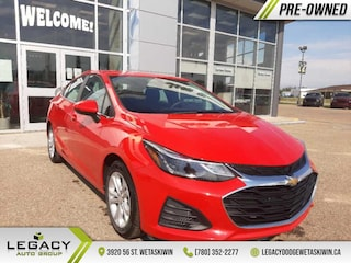2019 Chevrolet Cruze LT - Apple Carplay -  Android Auto Sedan I4 16V GDI DOHC Turbo