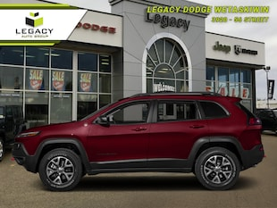 2017 Jeep Cherokee Trailhawk - Bluetooth - Low Mileage SUV