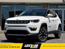 2018 Jeep Compass Limited | 4X4 | Configuration & Desing Moderne | Toit Panoramique SUV