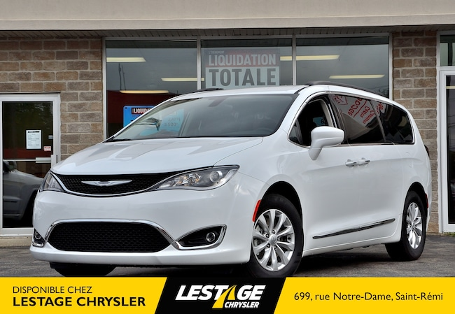 2017 Chrysler Pacifica Tourgin L | NAV | CUIR | ECRAN 8.4 pouces | CAMERA À hayon