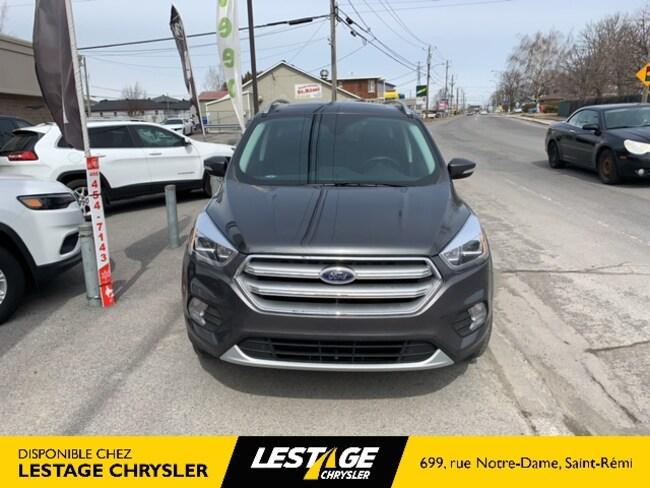 2018 Ford Escape TITANIUM/TOIT PANO/GPS/4X4 UTILITAIRE SPORT