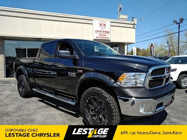 2018 Ram 1500 SXT | PACKAGE LIFT+MAG+ÉLARG AILES Truck Crew Cab