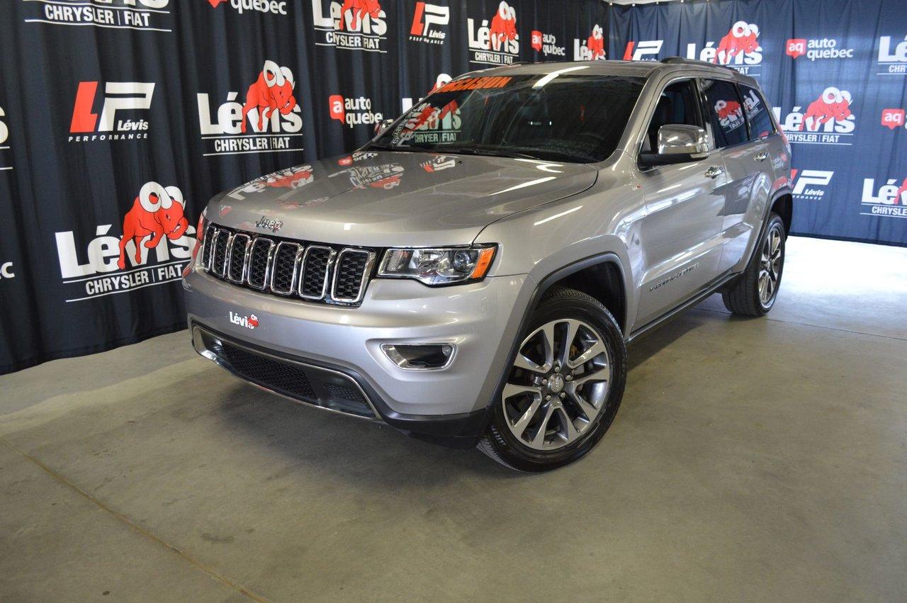2018 Jeep Grand Cherokee Limited Toit Ouvrant GPS ÉCran 8.4 Pouces VUS