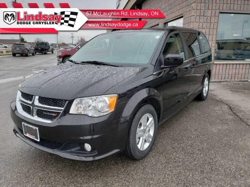 2019 Dodge Grand Caravan Crew Plus - Leather Seats - $224.94 B/W Van
