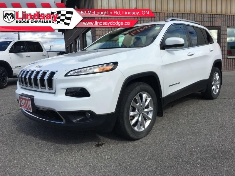 2016 Jeep Cherokee Limited - Leather Seats -  Bluetooth VUS