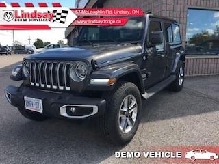 2019 Jeep Wrangler Unlimited Sahara ** Demo Vehicle ** Save $$ Low KMS! SUV