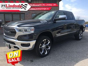 2019 Ram 1500 Limited - Leather Seats -  Cooled Seats Crew Cab