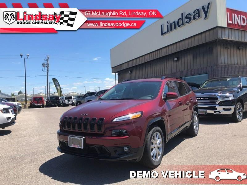 2018 Jeep Cherokee North - Leather Seats - Heated Seats - $206.39 B/W SUV