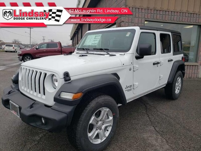 2019 Jeep Wrangler Unlimited Sport - Uconnect - $281.68 B/W SUV