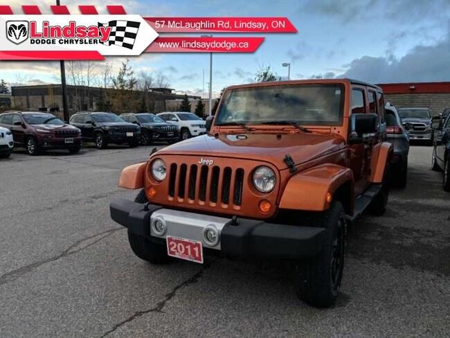 2011 Jeep Wrangler Unlimited Sahara 4X4 SUV