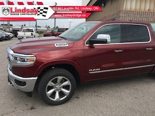 2019 Ram 1500 Limited ** Demo Vehicle ** Only 12,911 KMS Crew Cab