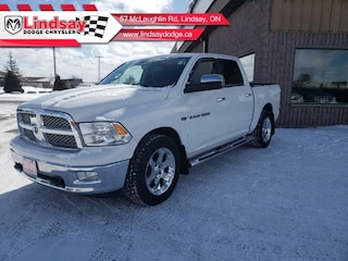 2011 Ram 1500 4 wd w/ Leather and navigation Crew Cab