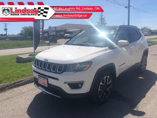 2017 Jeep Compass Limited - Leather Seats -  Bluetooth SUV