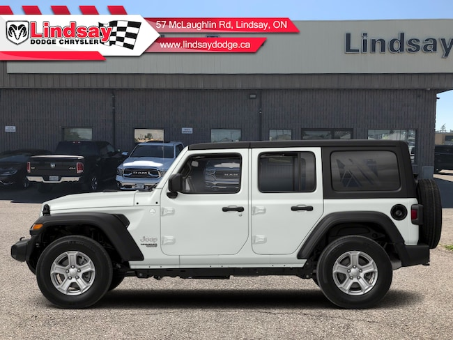 2019 Jeep Wrangler Unlimited Sport S - Uconnect - $281.68 B/W SUV