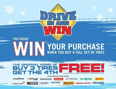 Drive In and Win Scratch Off - Until December 31st 2019