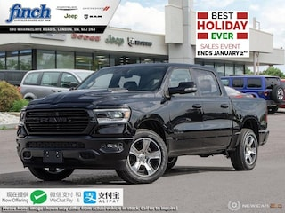New 2020 Ram 1500 Sport - $330 B/W Truck Crew Cab for sale in London ON