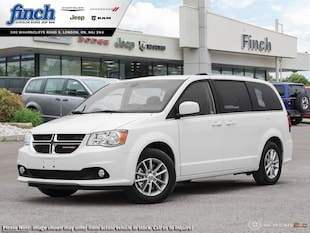 2019 Dodge Grand Caravan SXT Premium Plus - Uconnect - $180.44 B/W Van