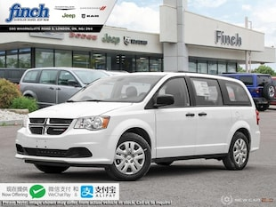 2019 Dodge Grand Caravan Canada Value Package - $162 B/W Van 2C4RDGBG4KR792886