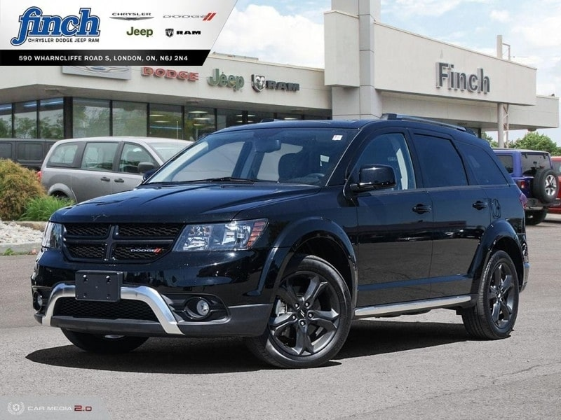 Featured Used 2018 Dodge Journey Crossroad - Leather Seats - $195 B/W SUV for sale near you in London, ON