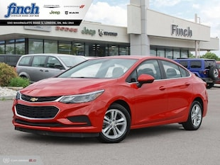 2016 Chevrolet Cruze LT - Heated Seats -  Cruise Control - $115 B/W Sedan 3G1BE5SM0GS606739
