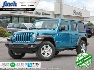 2020 Jeep Wrangler Sport - $256 B/W SUV 1C4HJXDN8LW275793
