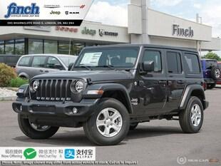2020 Jeep Wrangler Sport - $281 B/W SUV 1C4HJXDN7LW259164