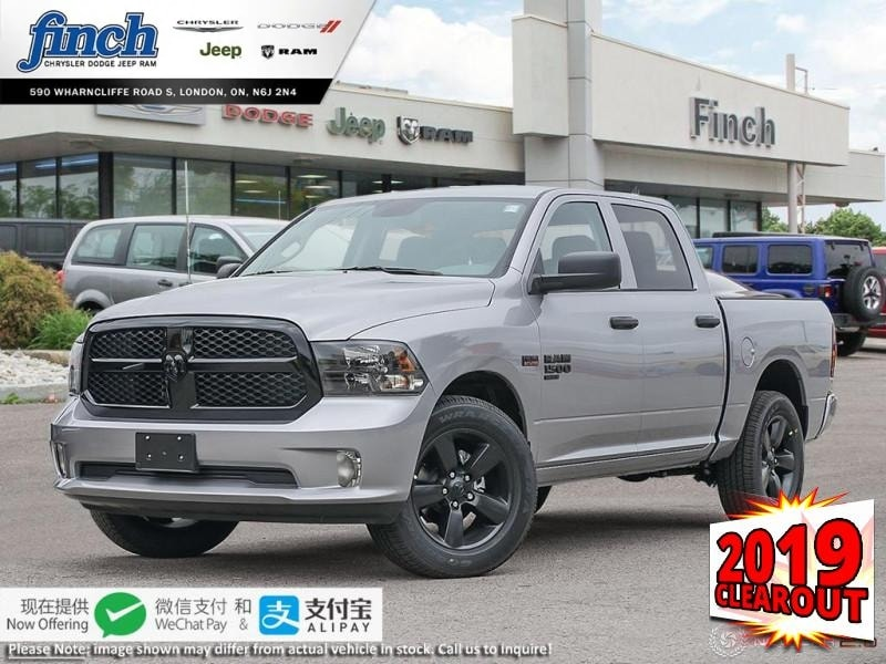 Featured New 2019 Ram 1500 Classic Night Edition - $238 B/W Truck Crew Cab for sale near you in London, ON
