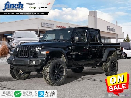 Featured New 2020 Jeep Gladiator Sport S - $284 B/W Truck Crew Cab for sale near you in London, ON