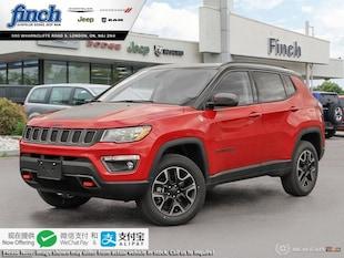 2019 Jeep Compass Trailhawk - Navigation -  Uconnect - $208 B/W SUV 3C4NJDDB6KT853935