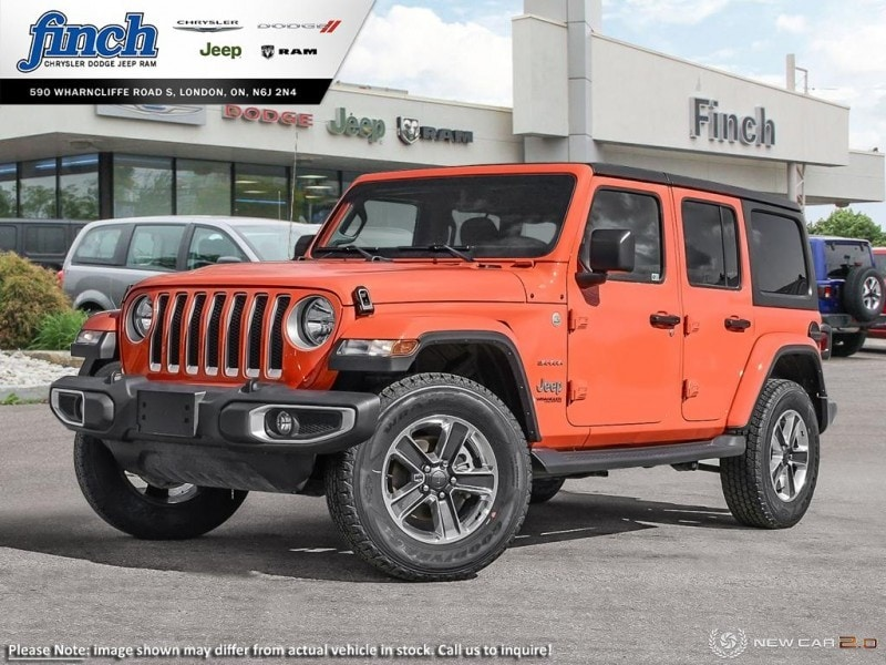 Featured New 2019 Jeep Wrangler Sahara - Navigation - $308.37 B/W SUV for sale near you in London, ON